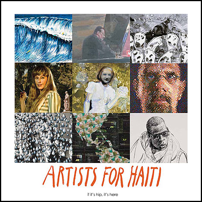 artists for Haiti Fundraising Auction