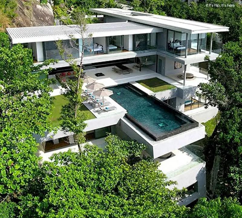 Modern Cantilevered Villa