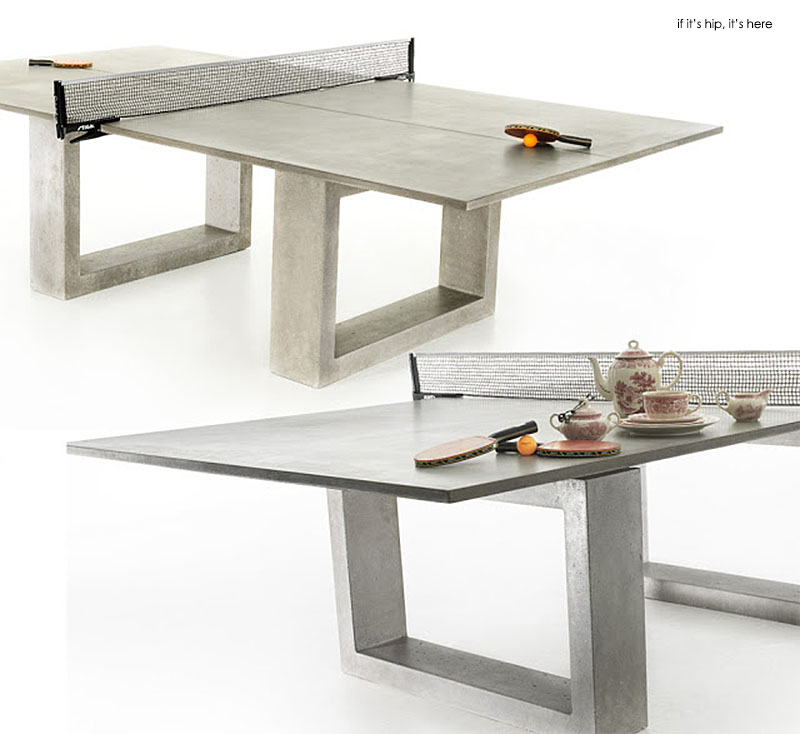 Concrete & Steel Ping Pong Table