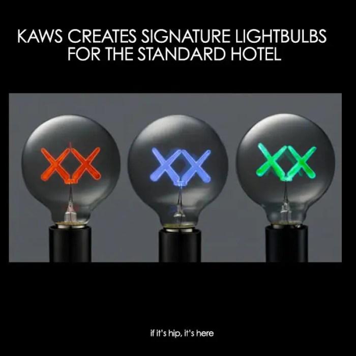 kaws lightbulbs