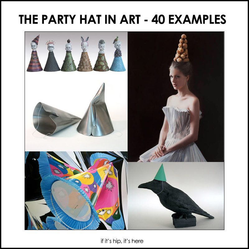Party Hats in Art