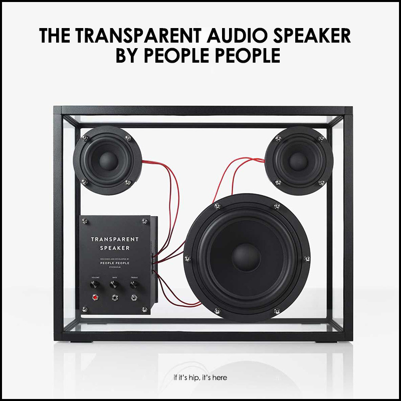 Transparent Speaker From People People