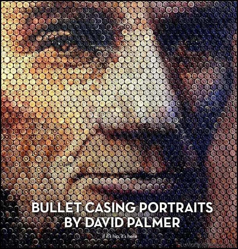 Bullet Casing Portraits
