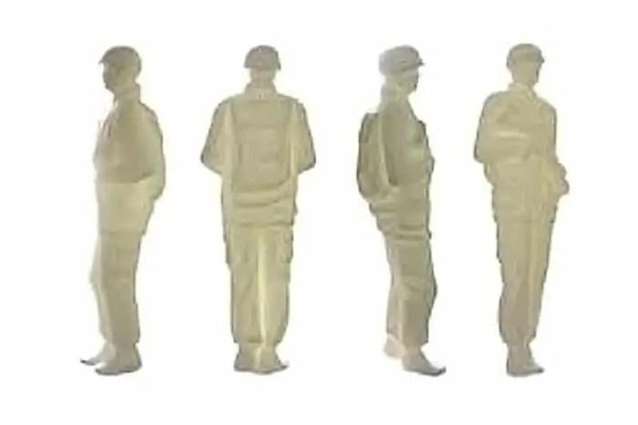 scabetti bone china soldiers