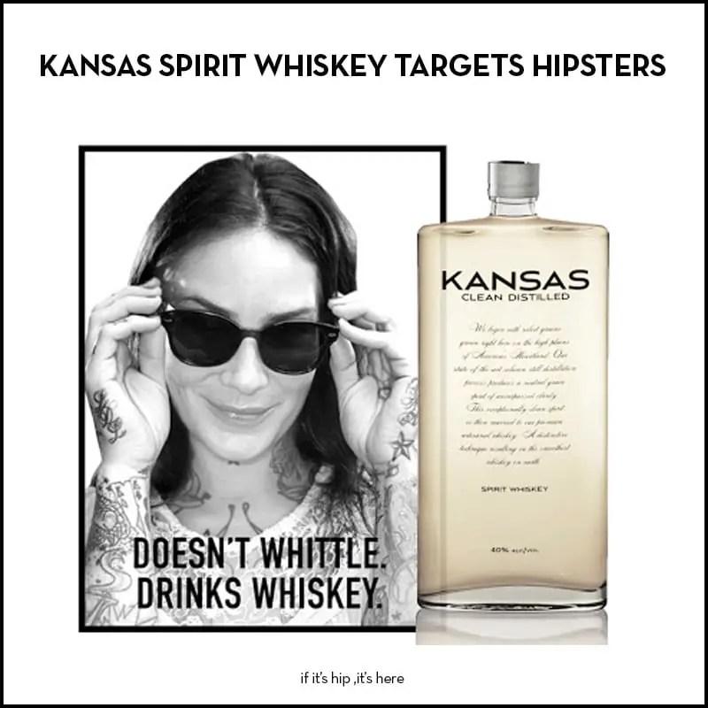 kansas spirit whiskey targets hipsters