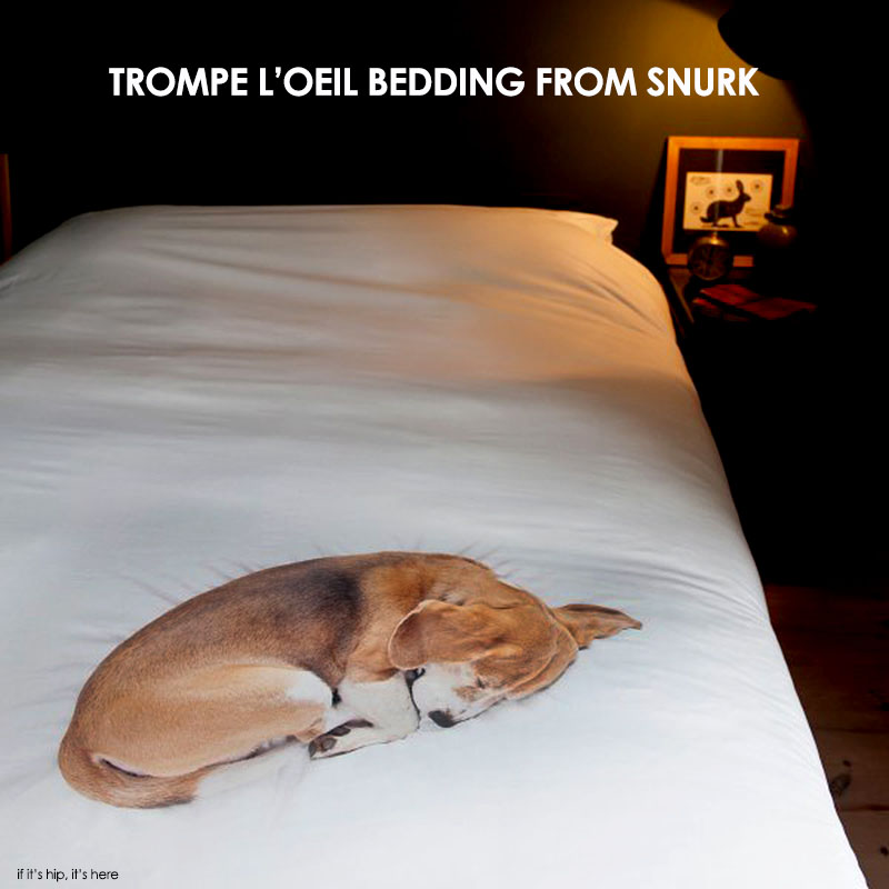 trompe l'oeil bedding