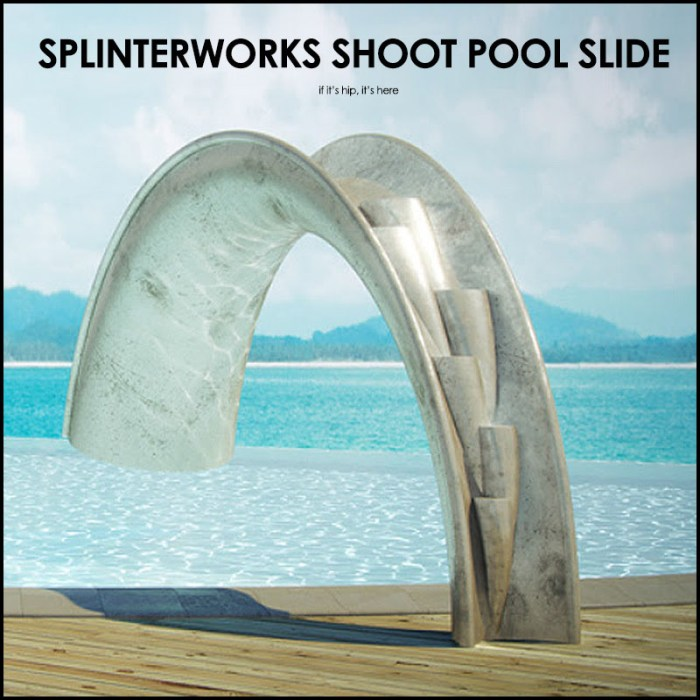 SplinterWorks Shoot Pool Slide