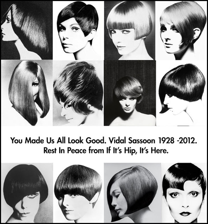 Vidal Sassoon Dies But His Cuts Live On A Look At The Hair Masters