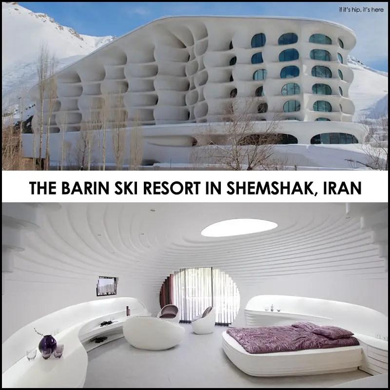 The Barin ski resort