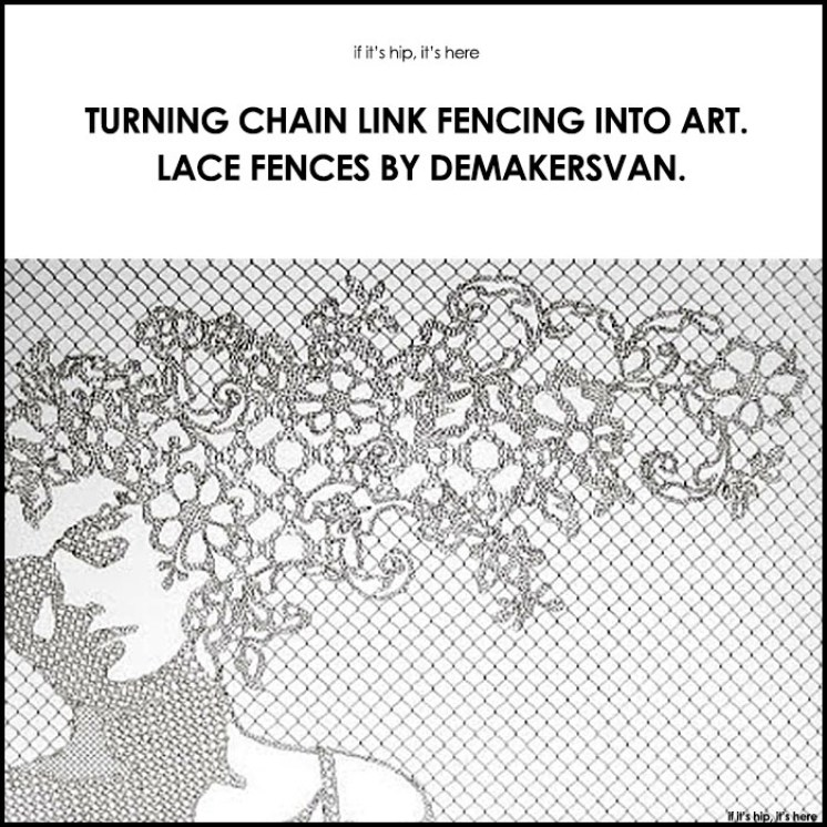 Lace fences by demakersvan turn chainlink into art turning chain link fencing into art lace fences by demakersvan workwithnaturefo