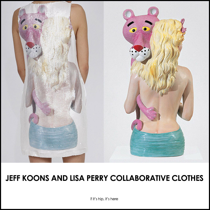 jeff koons and lisa perry collaborate