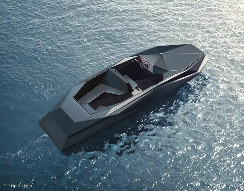 Z boat by zaha hadid