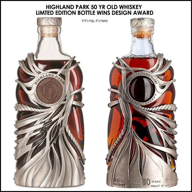 Highland Park Whisky Bottle