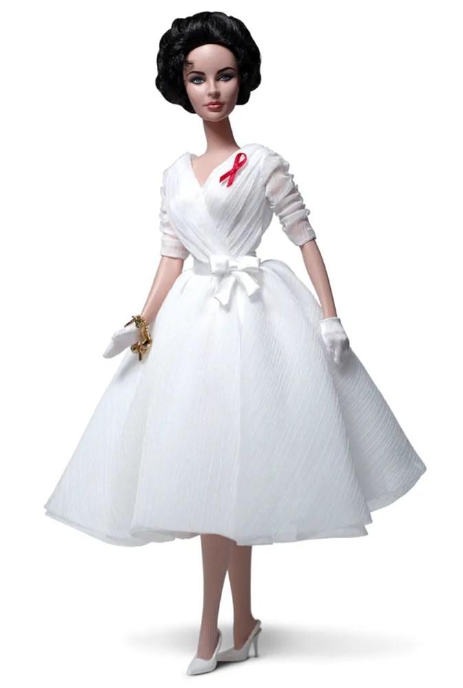 liz taylor white dimaonds doll IIHHIH