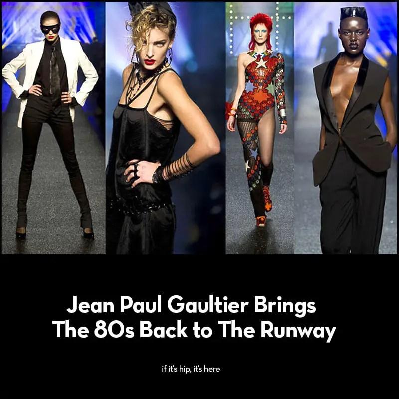 jean paul gaultier 2013 collection
