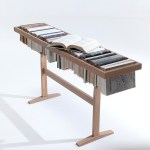 The Booken Is A Table, A Shelf and a Library In One.