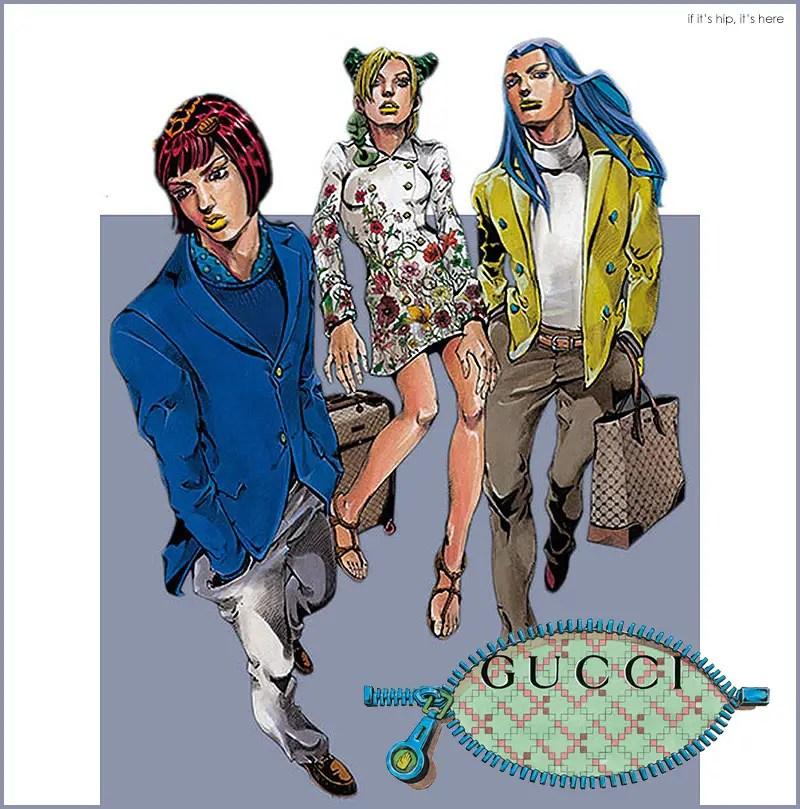 Gucci Manga