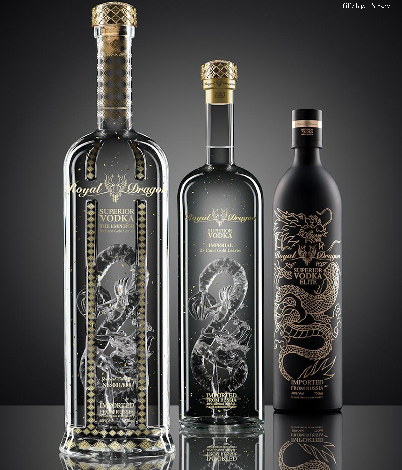 Royal Dragon Vodka - photo © illume visuals