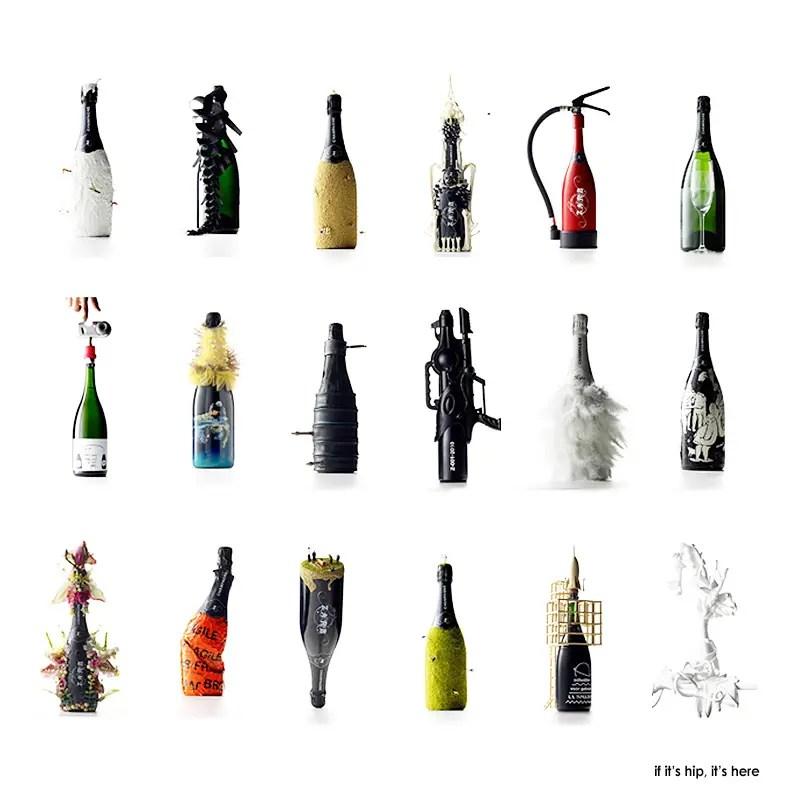 Bottles of Zarb Champagne