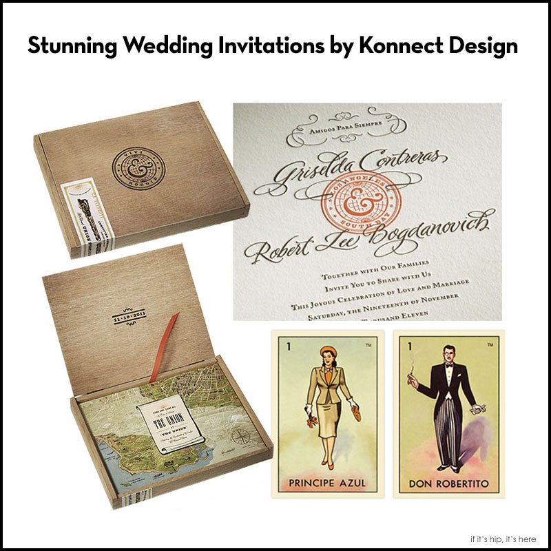 Stunning Wedding Invitations by Konnect Design