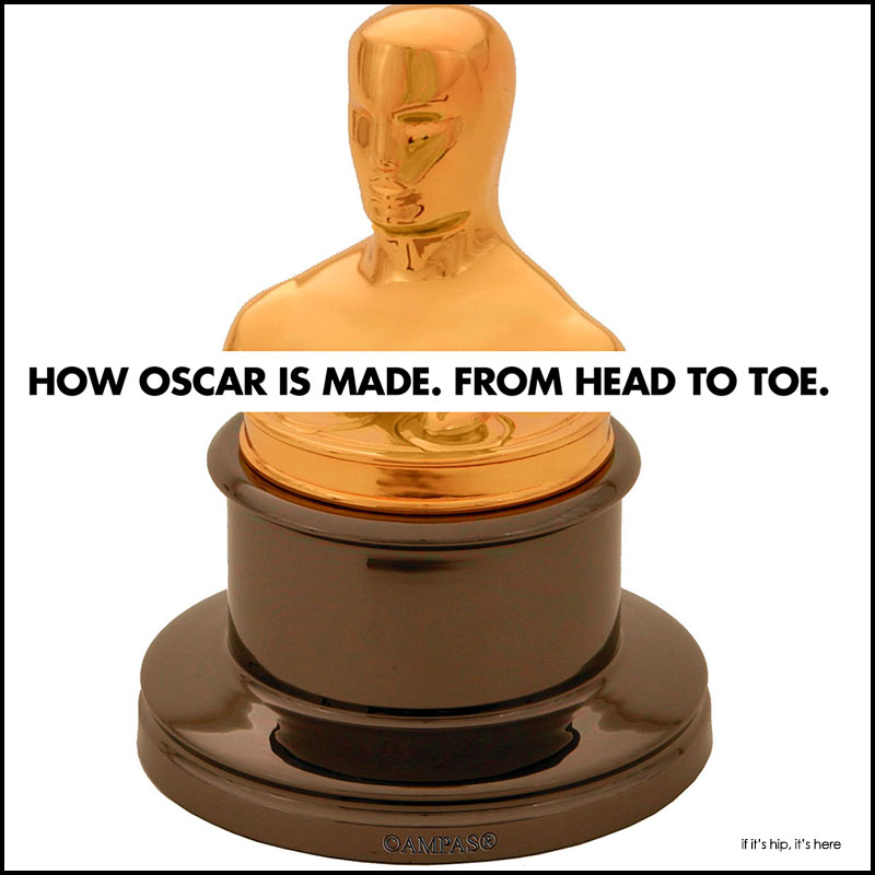 How The Oscar Statuette Is Madee
