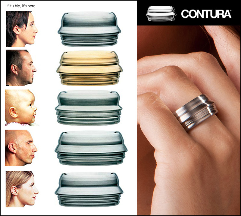 Contura Rings by Thomas Geison