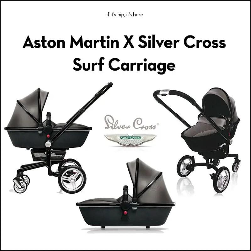 aston martin x silver cross surf carriage