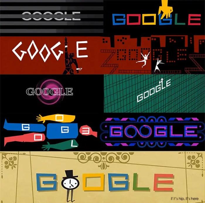 Saul Bass Google Doodle Tribute