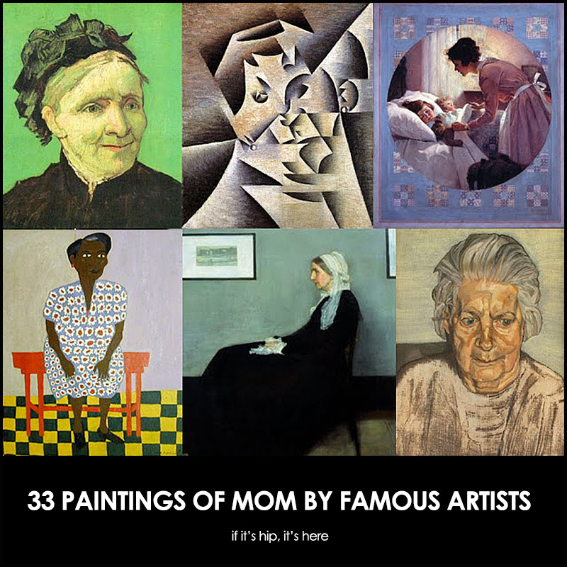 artists' paintings of their mothers
