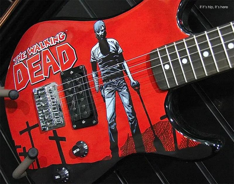 walking dead guitars hero IIHIH