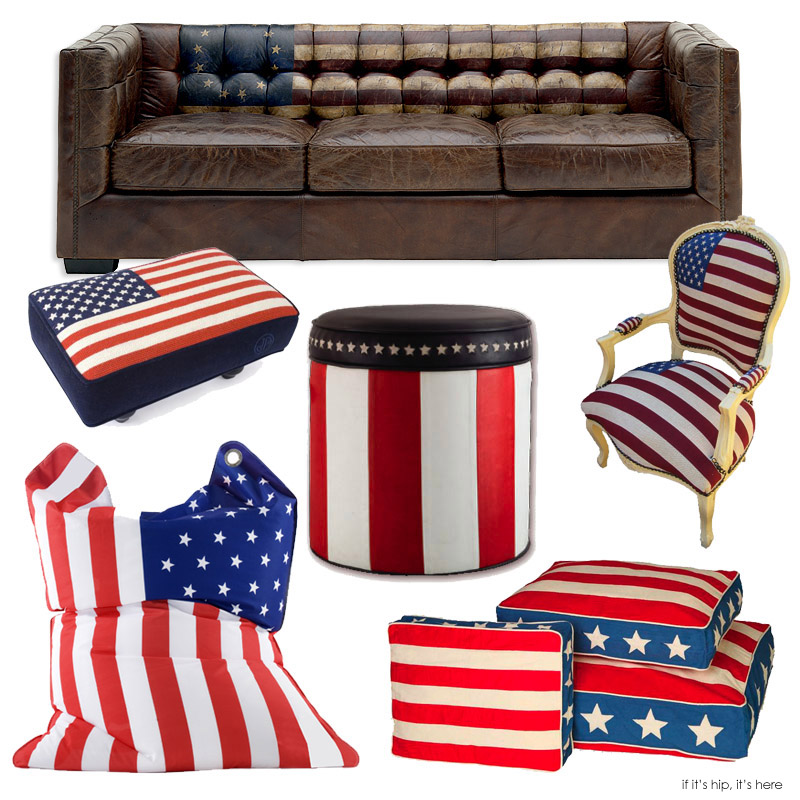 Fresh 10 Pieces Of Perfectly Patriotic Furniture For The Fourth of July  ML28