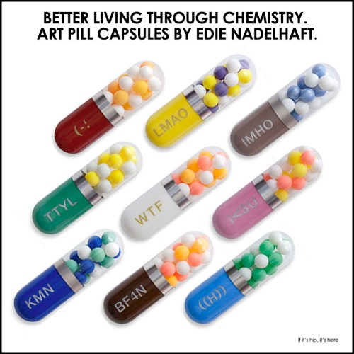 Read more about the article Better Living Through Chemistry. Contemporary Capsule Sculptures by Edie Nadelhaft.