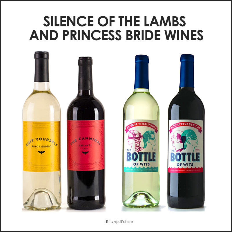 Silence of The Lambs and Princess Bride Wines