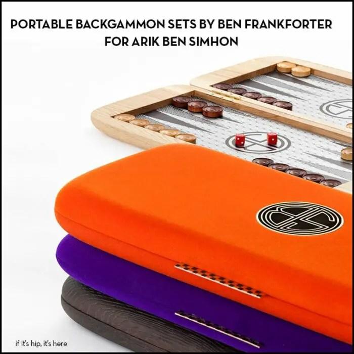 stylish backgammon sets