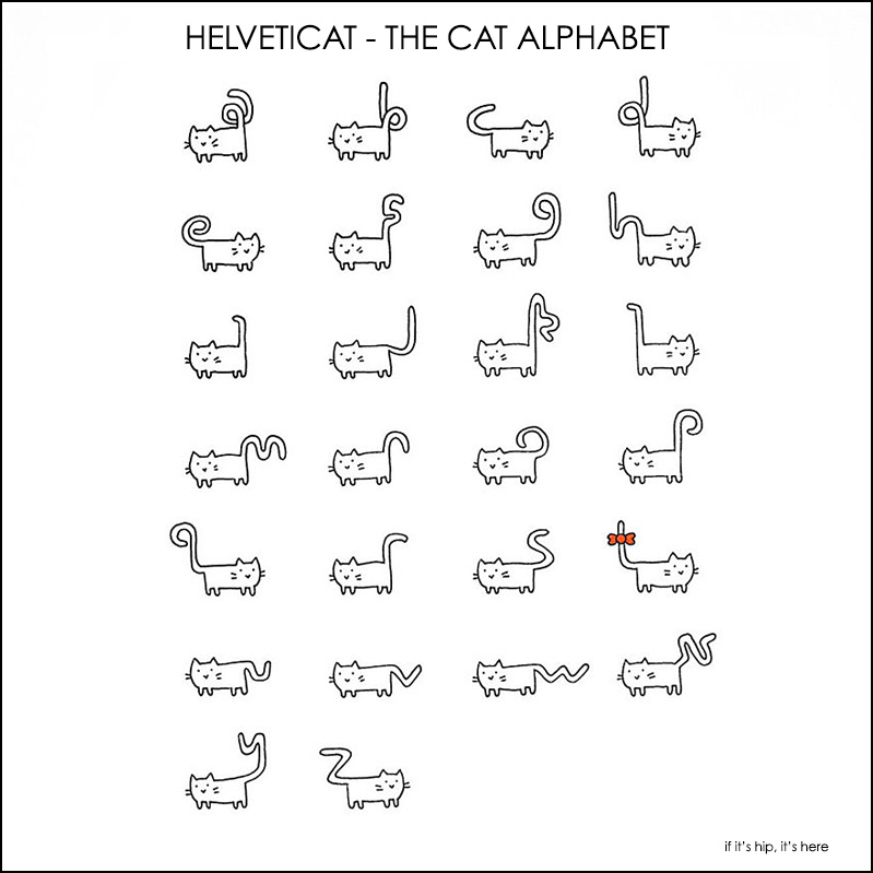 Helveticat by Bethany Lesko