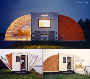 The Urban Campsite's Coolest Caravan, The Marquis by Eduard Bohtlingk.