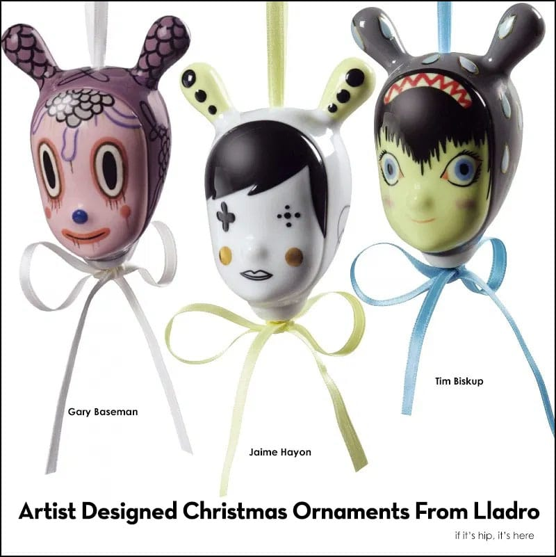 Artist Designed Christmas Ornaments From Lladro