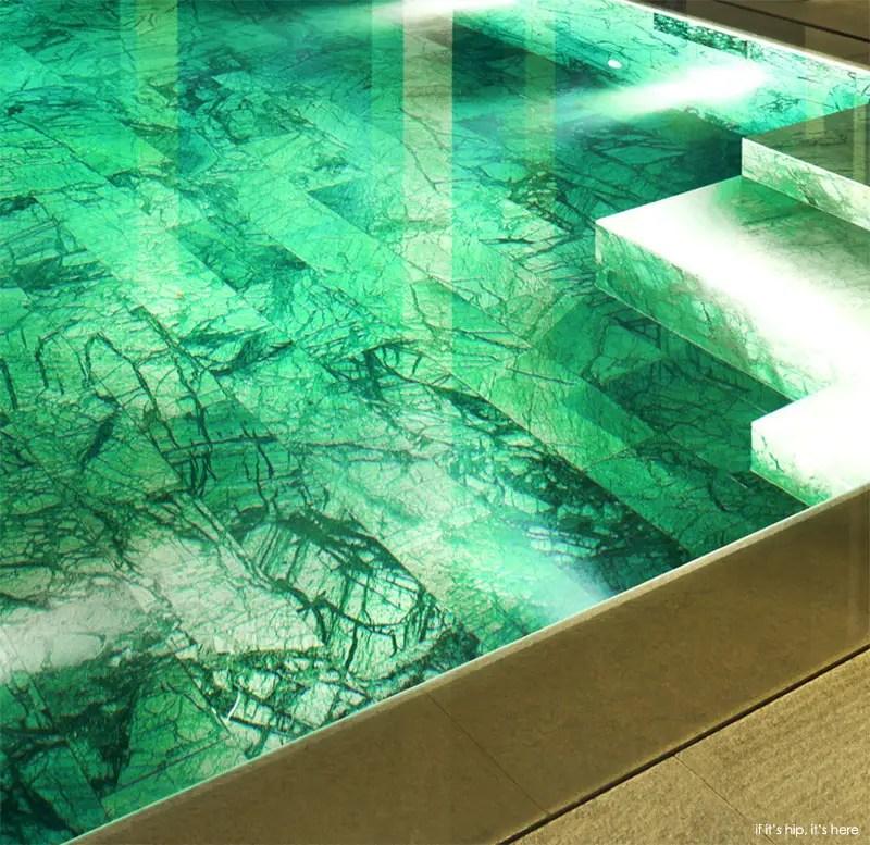 San Lorenzo North show villa marble bottom pool 1 IIHIH