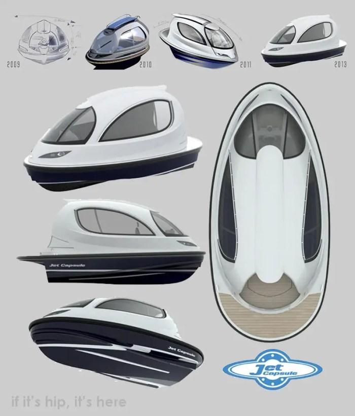 jet capsule design