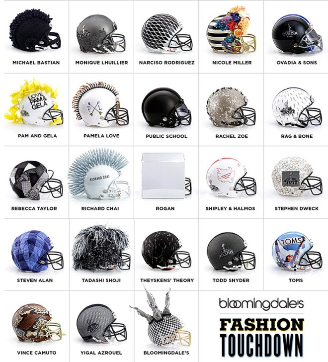 Nfl Haute Couture Helmets By  Top Fashion Designers Up For Auction If Its Hip Its Here