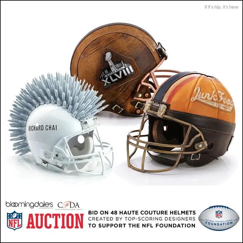 NFL Helmet Auction