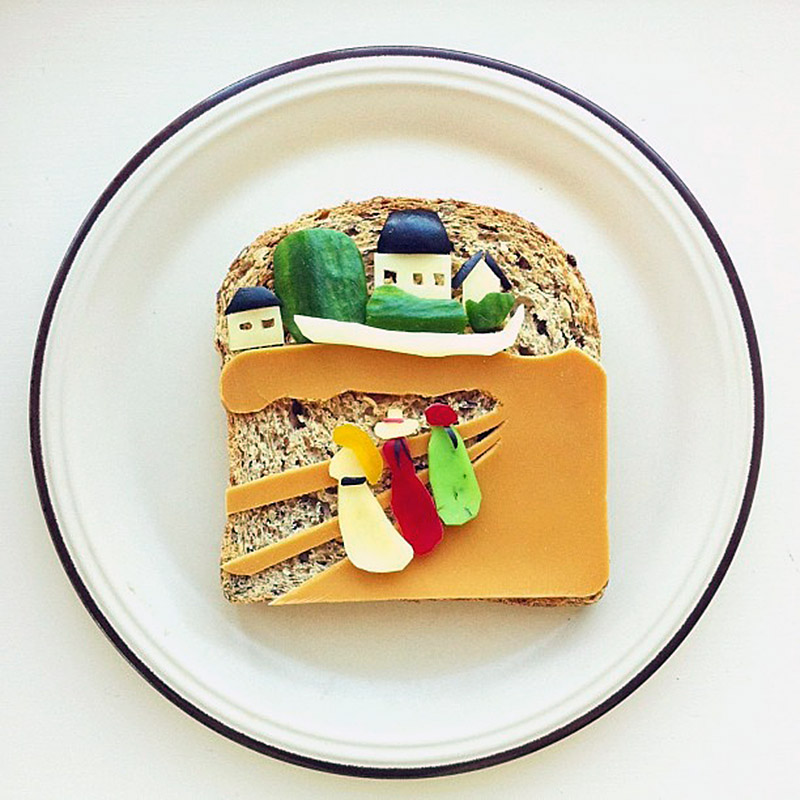 The Art Toast Project Presents- Munch III ('Girls On a Jetty') Ida Frosk IIHIH