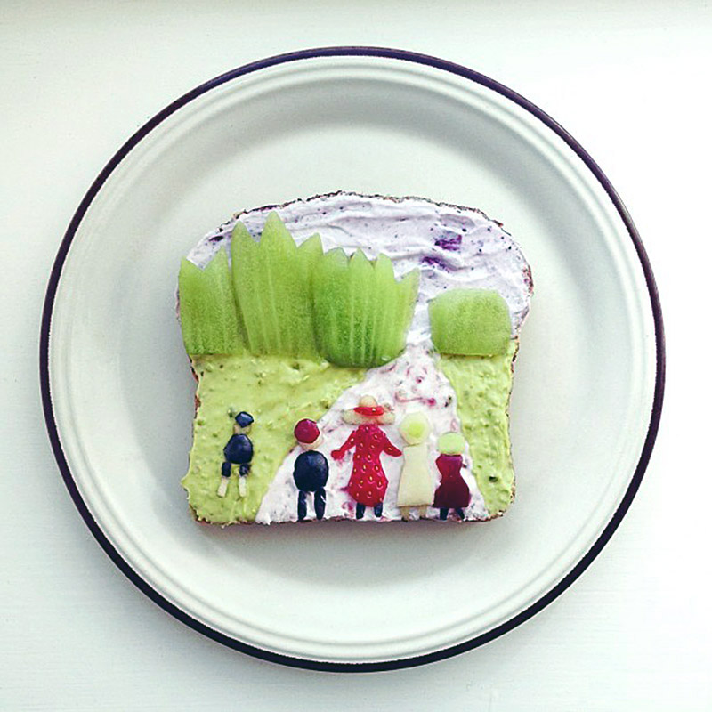 The Art Toast Project Presents- Munch IV Ida Frosk The Fairy Tale Forest IIHIH (