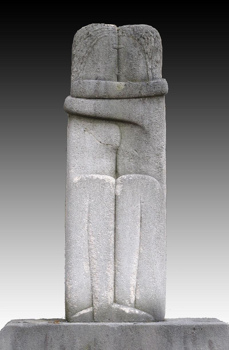 Image result for brancusi the kiss