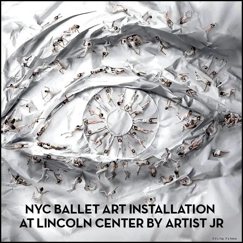 NYC ballet art installation JR