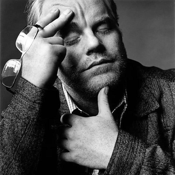 portrait of Philip Seymour Hoffman as Truman Capote by Nigel Parry
