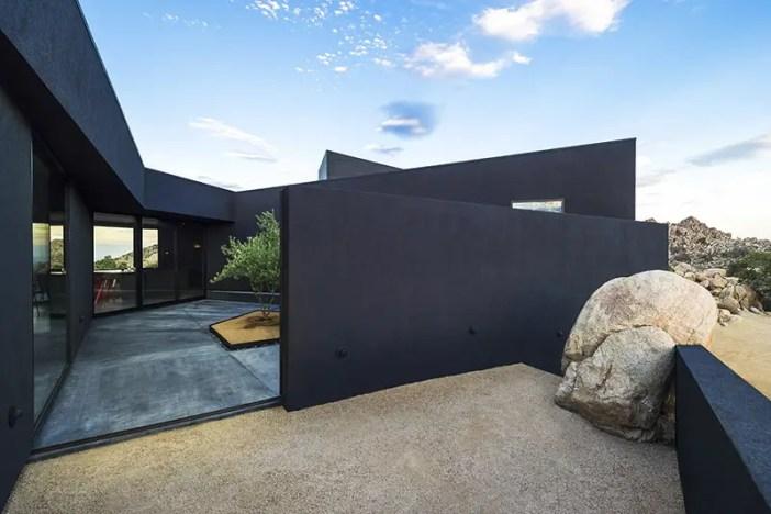 all black desert house