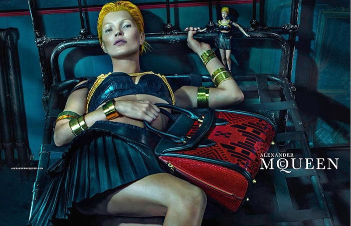 kate moss in alexander queen ad campaign