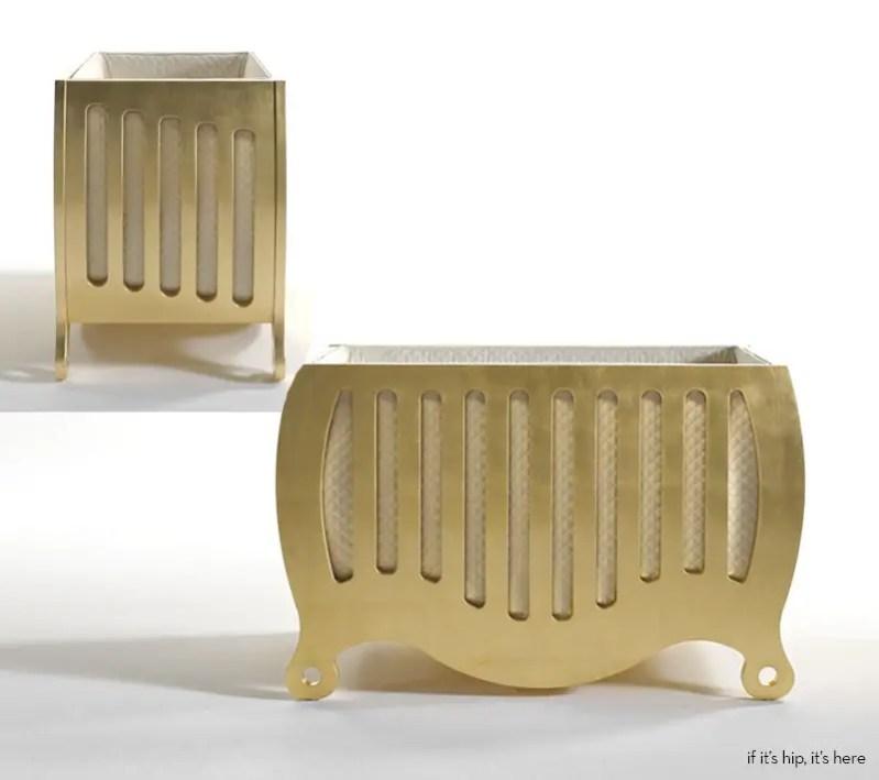 Bela Cot Gold Cribs