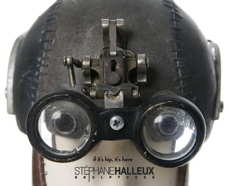 Steampunk Sculptures of Stephane Halleux